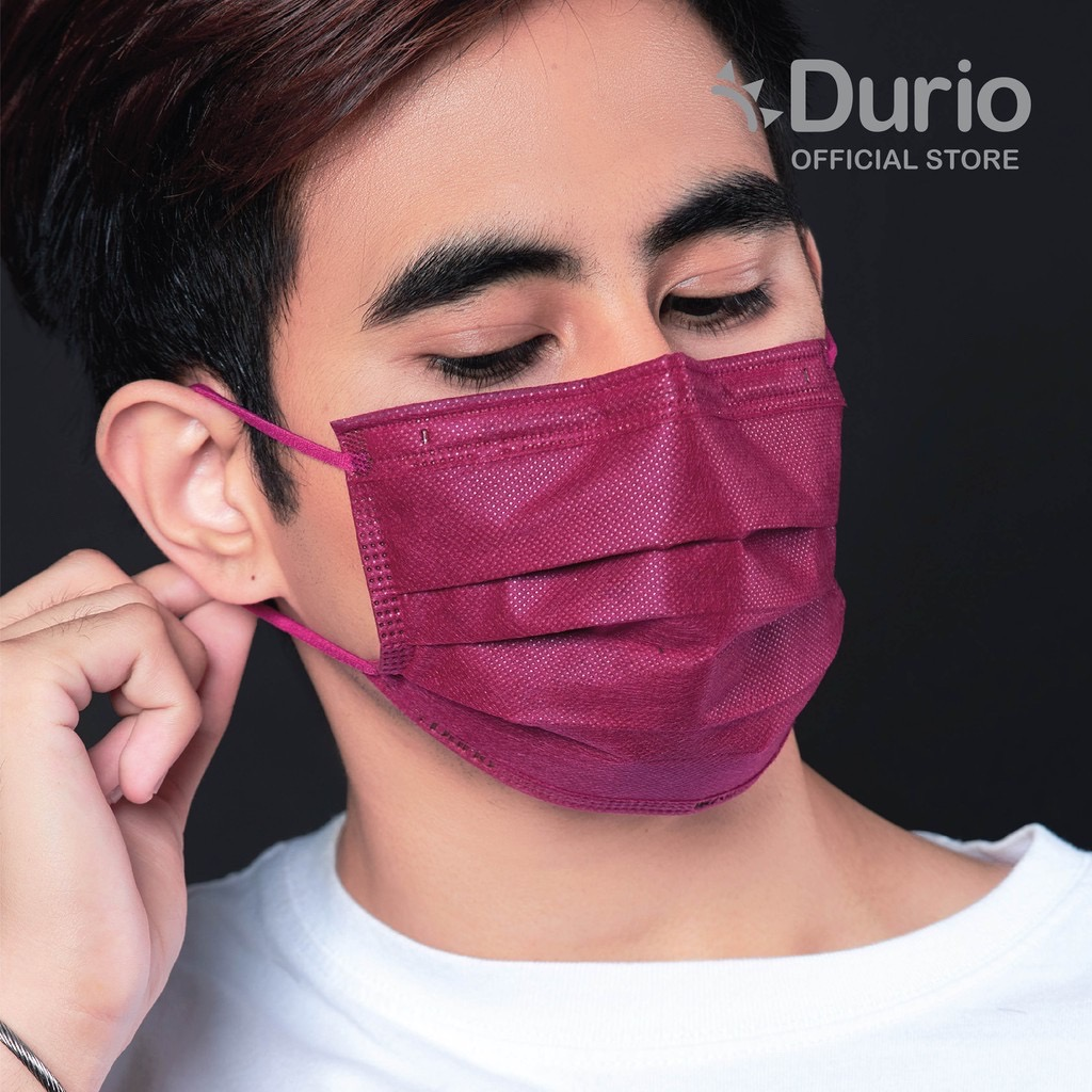 Durio 545 Trendish 4ply Surgical Face Mask - 40pcs